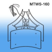 Mobile Tri - Way Ceiling Display Systems, Sign Holder, MTWS-160