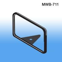"Metal Sign Frame with Wedge Base, MWB-711, 11"" x 7"""
