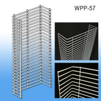 WPP-57, Wire Power Panel Wing Silver | Sidekick | Product Merchandising