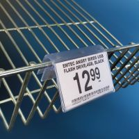 Covered face wire basket sign holder, EG-19