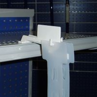 Double Merchandising Strip Hanger, PLSH-777