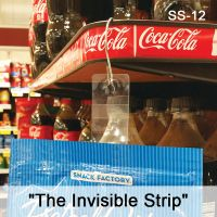 sticky strip adhesive display merchandising strip, SS-12