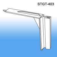 gondola shelf top sign holder, STGT-403