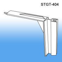 gondola shelf perforated hole flag sign holder, STGT-404