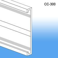 "3"" C-Channel Data Label Holder, CC-300"