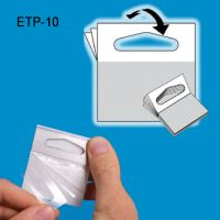 Hang Tabs - Clear Plastic Adhesive | Clip Strip, ETP-10