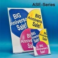 Slanted Style Easel Sign Holder, ASE-Series