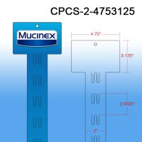 Your Branded Custom Printed Merchandising Strip, 12 Stations, Easy to Load, CPCS-2-4753125