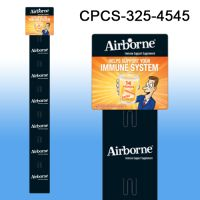 Custom Printed Merchandising Strip, 6 Stations, Easy to Load, CPCS-325-4545
