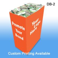 Medium Corrugated Dump Bin Display with Custom Graphics, DB-2