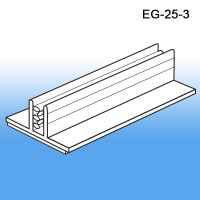 "3"" L x 1"" W Grip-Tite™ Wide Base Sign Holder, EG-25-3"