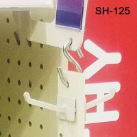 "SH-125, 1.625"" S-Hook for hanging strips"