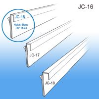 J - Channels | Wall Mount Sign Holder Channel Systems - Signage, JC-16