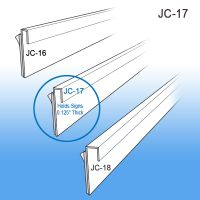 J-Channel Sign Holder, Wall Mount Signage, JC-17