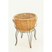 Round Wicker Basket Floor Display, RWBD-27