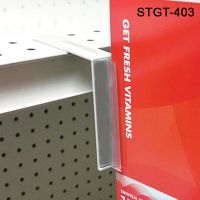 gondola shelf hole gripper sign holder, STGT-403