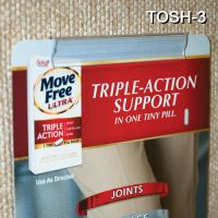 """3"""" Peel N Stick Sign Holder, No Tools Required, Very Easy to Install - Wall Mount, TOSH-3"""
