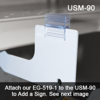 Attach a Sign to the USM-90 with our EG-519-1