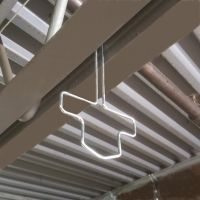 Warehouse Ceiling Hook for Split Beams, Ceiling Sign Holders, WWCH-75