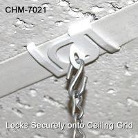 Secure Metal Twist Ceiling Loop - Drop Ceiling  Hanging Accessories, CHM-7021