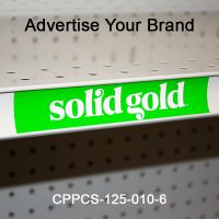 Full Color Custom Printed Price Channel Strip, CPPCS-SERIES