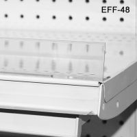 Extruded Front Shelf Fence, EFF-48