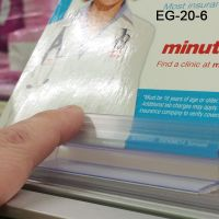 Easy to Use Grip-Tite™ Flexi Sign Holder, EG-20-6