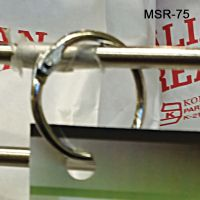 "3/4"" metal hinged snap ring, 0.75"", MSR-75"