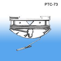 Twist Lock Ceiling Clip - Hanging Accessories, PTC-73