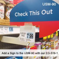 Add a Sign to the USM-90 with our EG-519-1