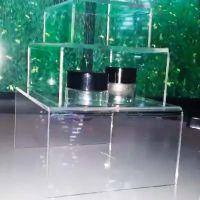 """Reusable, Display Risers, Acrylic, Set of 3 - 3"""", 5"""", 7"""", ADR-357"""