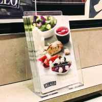"countertop literature holder, 6-1/4"" x 7-1/2"" brochure holder, c-160"