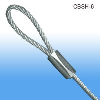 "1/16"" diameter wire 6 inch ceiling cable, CBSH-6"