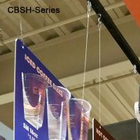 Ceiling Cable with Looped Ends, CBSH-48
