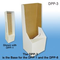 Corrugated Floor Display Base for our DPP-1 Power Panel Tray, DPP-3