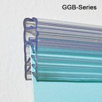 """3"""" Galactic Grip-Tite™ Banner Sign Holder with Adhesive, for Wall Mount, GGB-720"""