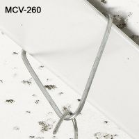 Reusable V-Shaped metal ceiling grid signage clip, MV-260