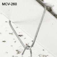 Reusable V-Shaped metal ceiling grid signage clip, MV-260