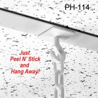 Peel N' Stick Ceiling Hook, PH-114