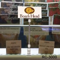 Clear Roto Clip Extenda Sign Holder, RC-3000