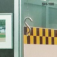 """Metal S-Hook, 1"""", SH-100"""