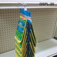 """Great for Display of many types of products. 20"""" long, 24 hooks, DSPL-20, flag position"""
