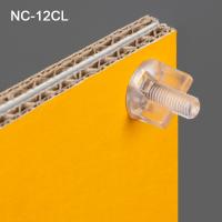 "Clip Strip® Viking Clip Fastener, ½"" Clear, NC-12CL"