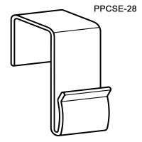 The Power Wing Clip™ for Square Edge, PPCSE-28, by Clip Strip®