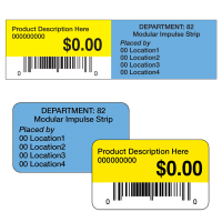 Walmart Department 82 Header Labels