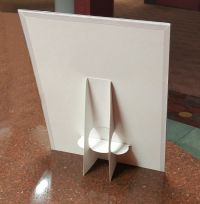 easel style countertop  sign holder, EBC-8511