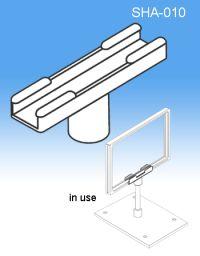 Stem Mount | Sign Frame System Components - Display Signs, SHA-010
