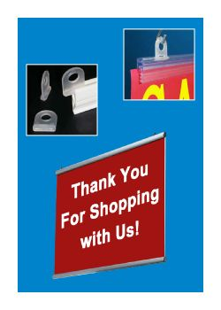 Banner Hangers - Ceiling Display Systems | Hanging Accessories, Clip Strip Corp.