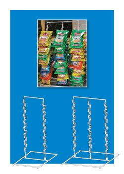 Free Standing Snack Rack - Product Display Materials