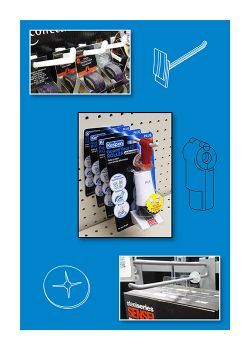 Display Hook Systems - Peg Board Hangers, Slatwall Hooks, Power Panels | Clip Strip Corp.